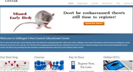 Eddinger's Pest Control Education Center