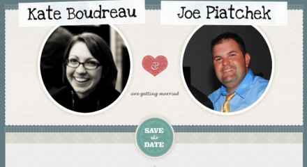 Joe/Kate – Wedding Annoucement